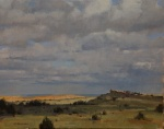 "Artist: Marc Hanson ""In Golden Lands"" - 16"" x 20"" Oil"