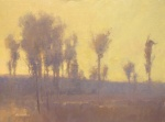 "Artist Marc Hanson: ""Morning Impression"" - 18"" x 24"" Oil."