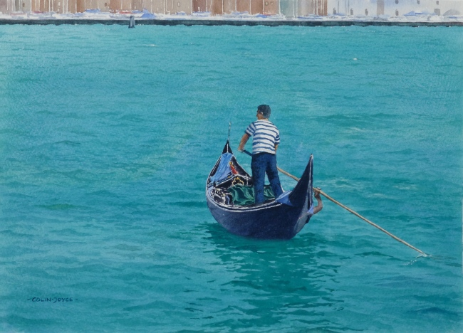 Start_of_the_Day_Gondolier_Venice